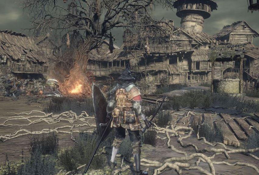 Dark Souls 3 Пепел Гробовщика