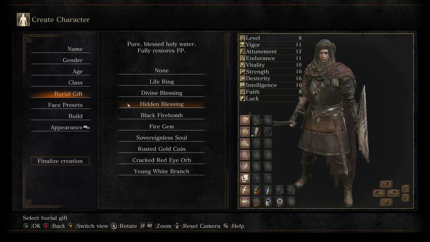 Dark Souls 3 погребальный дар