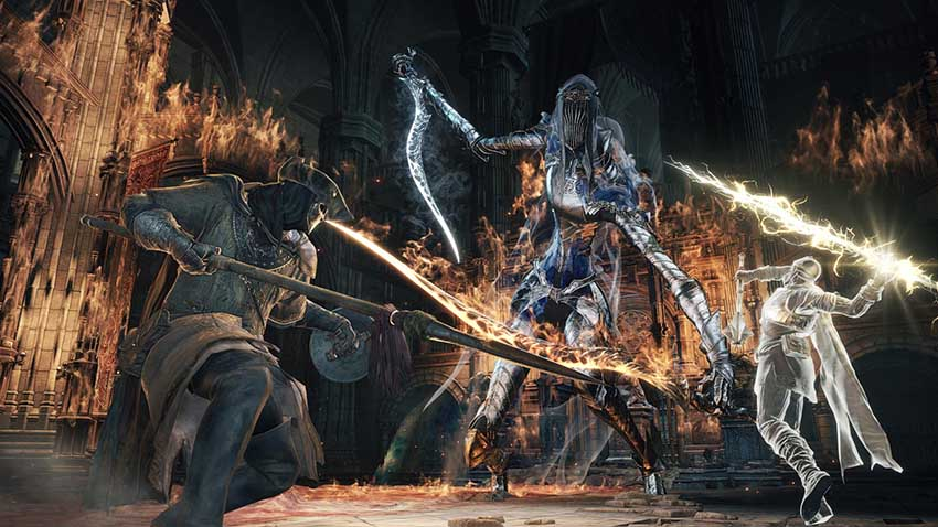Dark Souls 3 заклинания