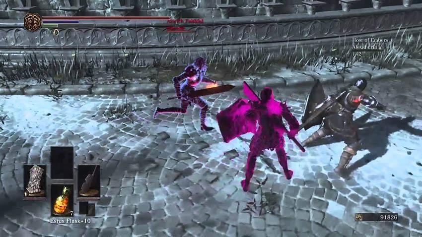 Как призвать фантома Dark Souls 3-2