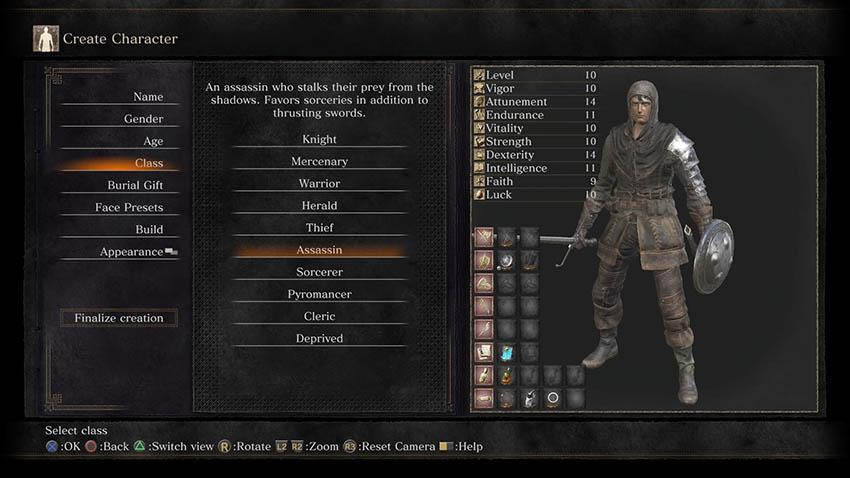 Как сбросить характеристики в Dark Souls 3