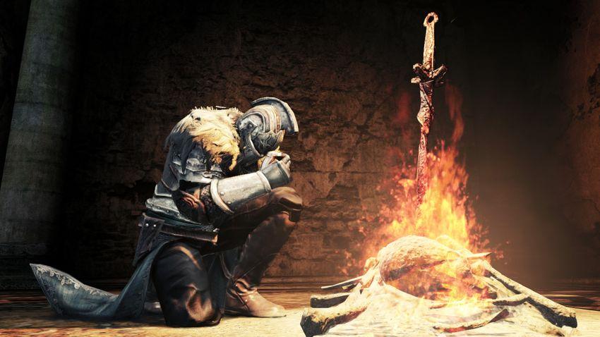 Уровень костра Dark Souls 3