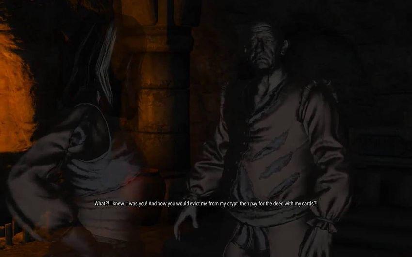 Вечный покой Кровь и Вино Ведьмак 3