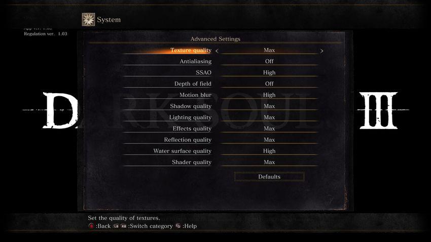 Виснет и зависает Dark Souls 3